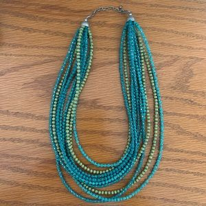 Boutique beaded necklace